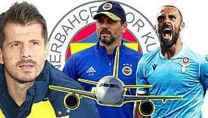 Fenerbahçe transferi uçakta bitirdi,