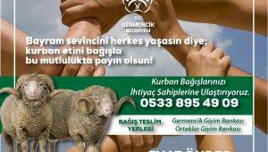 Germencik Belediyesi 'askıda kurban' kampanyasını başarıyla uyguladı