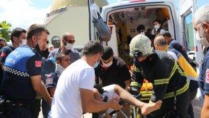 Görevden dönen jandarma ekibi kaza yaptı: 1'i ağır 8 yaralı