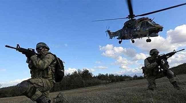 Hakkari'de hava destekli operasyon: 3 terörist etkisiz hale getirildi