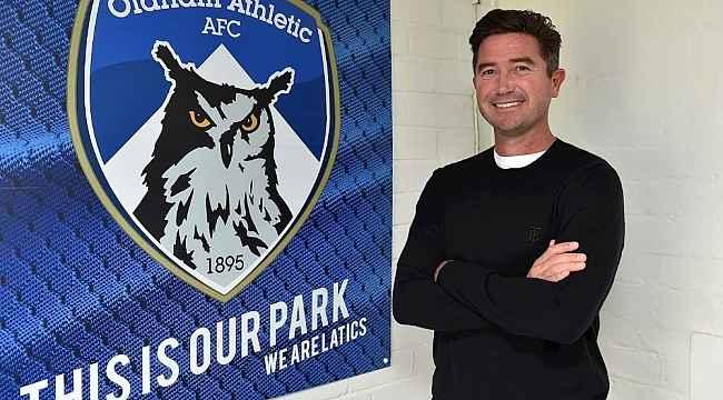 Harry Kewell, Oldham Athletic'in yeni teknik direktörü oldu