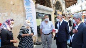 """Hatay Valisi Rahmi Doğan: """"Virüsle bilinen tek mücadele maske ve mesafe"""""""
