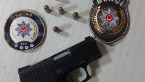 Hatay'da Glock marka tabanca ele geçirildi