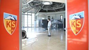 Hes Kablo Kayserispor Recep Mamur Tesisleri dezenfekte edildi
