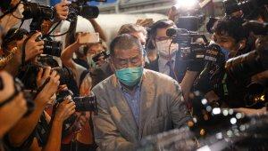 Hong Kong'da gözaltına alınan medya patronu serbest