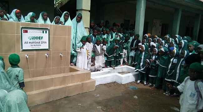 İDDEF, Nijerya'da 132 su kuyusu açtı