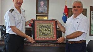 İl Jandarma Komutanı Uysal Ağaoğlu veda ziyaretlerine başladı