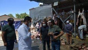 İl Tarım ve Orman Müdürlüğü Kurban Bayramı'nda denetimlerini hız kesmeden sürdürdü