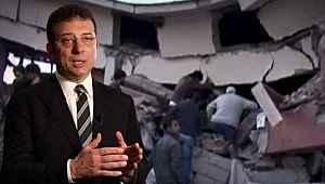 İmamoğlu, 17 Ağustos depreminden 2 gün sonra çektiği görüntüleri paylaştı