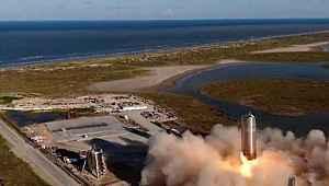 İnsanları Ay ve Mars'a götürecek olan uzay gemisinin prototipi, uçuş testinde başarılı oldu