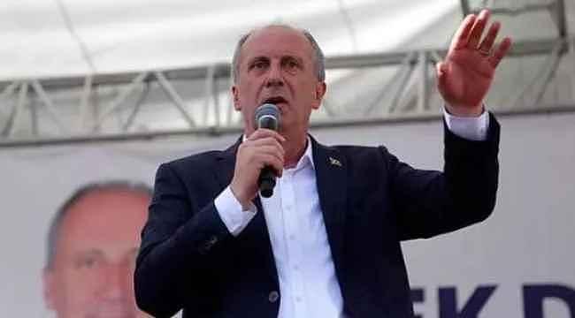 İsmail Saymaz'dan, yeni parti kuracağı iddia edilen Muharrem İnce'nin anket yaptırdığı iddiası! Sonuçlar şaşırtıcı