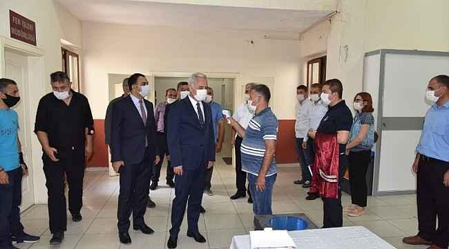Isparta'da 2 bin kişilik ekiple korona virüs denetimi
