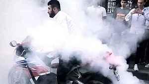 İstanbul'da motosikletli magandaların