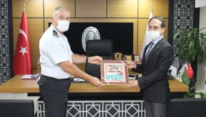 Jandarma Genel Komutan Yardımcısı Çitil'den, İl Sağlık Müdürlüğü'ne ziyaret