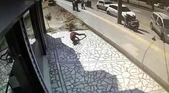 Kaçak elektrik kullanmaktan ceza yiyen baba ve oğlu dehşet saçtı