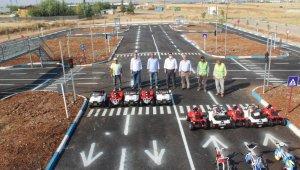 Kahta'da Trafik Eğitim Parkı tamamlandı