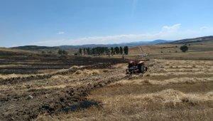 Karabük'te 25 dönümlük tarım arazisi yandı
