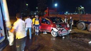 Karabük'te iki ayrı kaza : 1 ölü, 4 yaralı