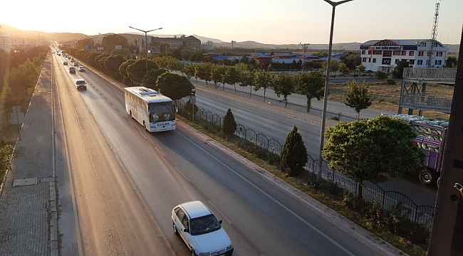 Kavşak noktadaki Afyonkarahisar'da bu bayram trafik yoğunluğu yaşanmadı