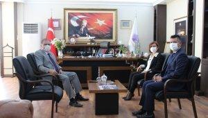 Kaymakam Türköz'den Başkan Köse'ye ziyaret