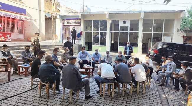 Kaymakam Vardar, denetimlere katılıp vatandaşın taleplerini dinledi