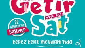 Kepez'de kadınlara ikinci el eşyalarını satma fırsatı
