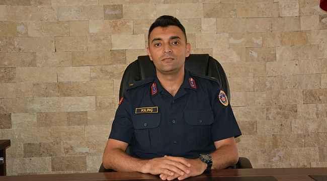 Korkuteli İlçe Jandarma Yeni Komutanı görevine başladı