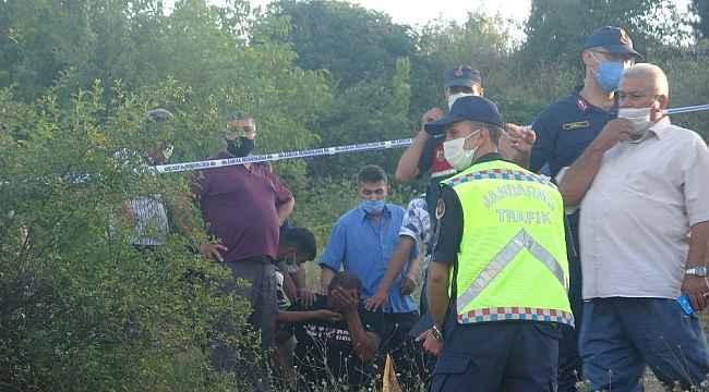 Köy yolunda kontrolden çıkan traktör şarampole devrildi: 1 ölü, 1 yaralı
