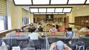 KPSS hazırlıkta gençlik kütüphanelerine yoğun ilgi