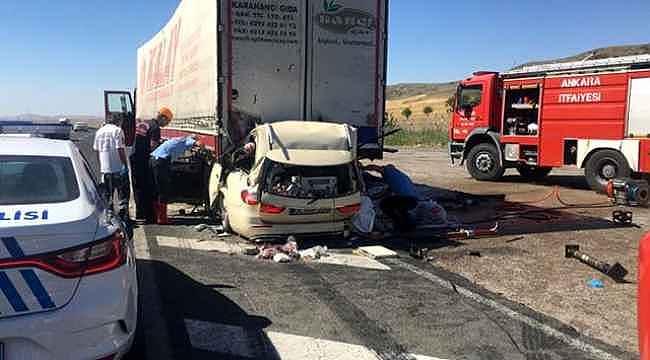 Kurban Bayramı tatilinin trafik kazalarında bilançosu ağır oldu