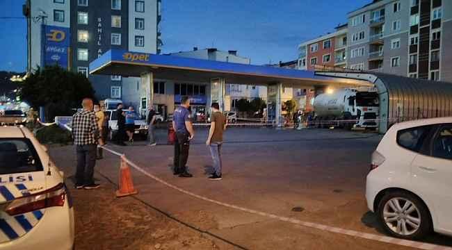 LPG tankerindeki sızıntı ekipleri harekete geçirdi