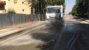 Malatya Büyükşehir'den dezenfekteye ağırlık
