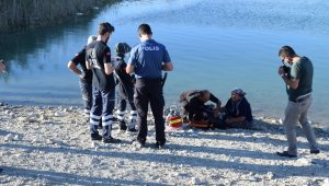Malatya'da gölete giren 2 kişi boğuldu