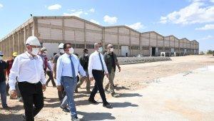 Malatya'da Kızılay'ın fabrikaları bu yıl hizmete girecek