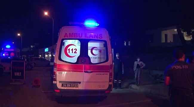 Maltepe'de bir restoran kurşunladı; 3 yaralı