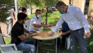 Mardin'de hububatçılar korona virüs yüzünden müzayede salonlarını kapattı