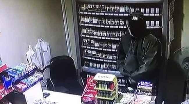 Maskeli hırsız benzin istasyonunu soydu - Bursa Haberleri