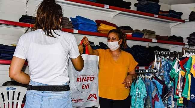 Mersin'de 'kıyafet evi' uygulaması