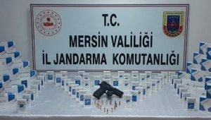 Mersin'de 430 paket gümrük kaçağı sigara ele geçirildi