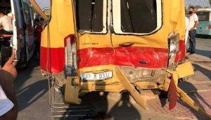 Mersin'de zincirleme kaza: 6 yaralı