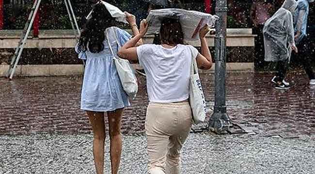 Meteorolojiye göre 4 şehirde sağanak yağış bekleniyor