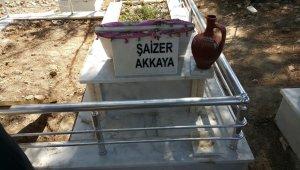 Mezarlığa çirkin saldırı