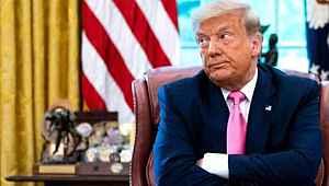 Muhabirin sorusu ABD Başkanı Trump'ı kızdırdı! Kürsüyü terk etti
