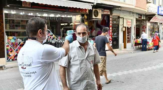 Mustafakemalpaşa'da geniş kapsamlı virüs denetimi - Bursa Haberleri
