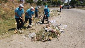 Nazilli sanayi bölgesinde kapsamlı temizlik çalışması başlatıldı