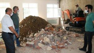 Okullarda deprem güçlendirme çalışmaları