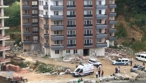 Ordu'da inşaattan düşen işçi hayatını kaybetti