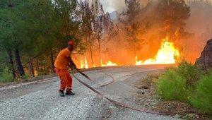 Ormanın yangın savaşçıları 724 tetikte