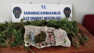 Samandağ'da uyuşturucu operasyonu