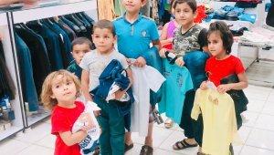 Şanlıurfa'da 590 çocuğa bayramlık dağıtıldı